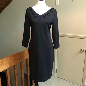 ♠️ Isaac Mizrahi for Target Beaded Black Dress ♠️